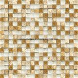 2016 Design operato Ice Crackle Ceramic Mosaic con Glass & Marble