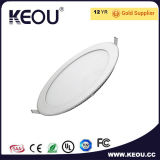 Kreis-LED-Leuchte-vertieftes Panel LED