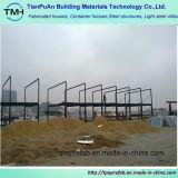 Professionelle helle Stahlkonstruktion für Lager-Büro
