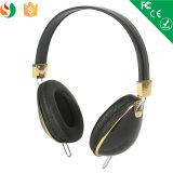 Receptores de cabeza bajos pesados de los auriculares de la venta directa de la fábrica para el teléfono móvil