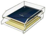 Шикарное ясное акриловое вспомогательное оборудование стола увеличивает
