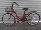 """[ولّ قوليتي] 26 """" [ستيل فرم] [لد سد بتّري] درّاجة كهربائيّة ([جسل006])"""