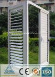 Profils en aluminium d'extrusion pour le guichet à abats-sons en aluminium