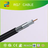Câble coaxial de liaison Rg7 (CE/RoHS/REACH/ETL) de 75 ohms