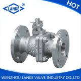 Robinet à tournant sphérique d'acier inoxydable de la norme ANSI 150lb pour l'eau