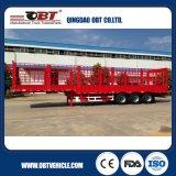 50ton鋼鉄物質的なバルク貨物輸送の棒のトレーラー