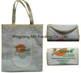 Constructeur professionnel de prix concurrentiel de sac d'emballage non tissé pliable de promotion