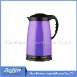 1.8L電気水やかんのプラスチックやかんの熱の空気鍋Sf2008 (紫色)