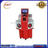 100W 200W de Draagbare Machine van het Lassen van de Vlek van de Laser van Juwelen YAG