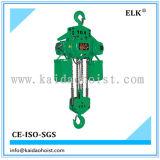 grue 10ton à chaînes électrique avec le crochet