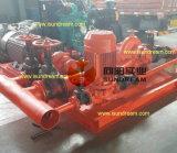 Bomba de agua accionada por el motor diesel mencionada de la lucha contra el fuego de la UL