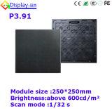 P3.91 SMD coulant l'Afficheur LED de location polychrome extérieur