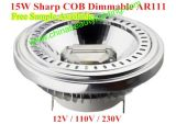 15W LED Dimmable LED chiaro AR111