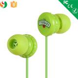 El mejor crea el auricular estéreo atado con alambre de la promoción para requisitos particulares de la venta al por mayor del teléfono celular de los receptores de cabeza