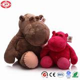 O brinquedo enchido macio feito sob encomenda do luxuoso do hipopótamo enorme caçoa a boneca do presente