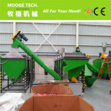 Caliente de la venta de residuos de la máquina de reciclaje de plásticos
