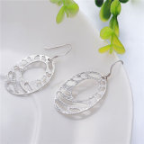 Ovale 925 Sterling Silver Jewelry Set con Cheap Price (J-0036)