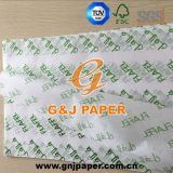 245*345mm напечатанная упаковочная бумага 21GSM для упаковки еды
