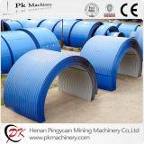 Ozean-Blau-galvanisierte haltbare Anti-Rain Förderanlagen-Stahlhaube