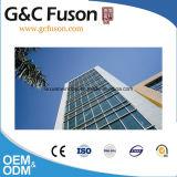 Prix de mur rideau d'aluminium et en verre de qualité d'usine de la Chine