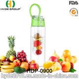 2016 горячее сбывание BPA освобождает пластичную бутылку вливания плодоовощ, подгонянную бутылку воды плодоовощ Tritan (HDP-0900)