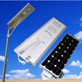 Allen in One Solar Street Light 5W-100W Integrated Solar Street Lighting met Zonnepaneel Motion Sensor LED Solar Street Light