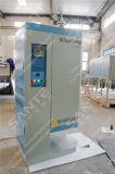 Het Verticale Type van Oven van de buis met de Buis van het Kwarts van 80mm en VacuümFlenzen