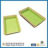 Magasin de couleur de Brown (GJ-tray005)