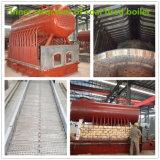 carvão de alta pressão caldeira de vapor 2ton despedida para a indústria alimentar