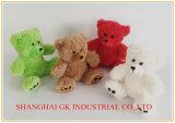 De nieuwe Knuffel van de Pluche van de Stof Kleurrijke draagt Teddybeer
