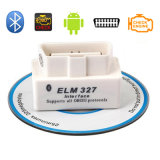 Elm327バージョン1.5 Bluetooth Obdiiの自動診察道具自動コード読取装置(白い)