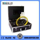 Камера осмотра трубы сточной трубы видеоего цвета Wopson реальная (WPS-7105)