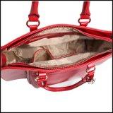 Borse rosse luminose delle donne, borse delle signore di alta qualità