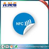 Antikollisions-NFC Marken-Aufkleber/saugfähige Materialien NFC RFID versieht passives mit Warnschild