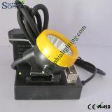 3W 리튬 건전지를 가진 재충전용 크리 사람 LED 맨 위 램프