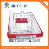 최고 가격 금속 슈퍼마켓 손수레 (JS-TEU03)