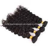 Virgin 100% Hair Natural Human Hair Weft per le donne di colore