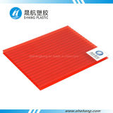 Colors différent de Polycarbonate (PC) Plastic Roofing Sheet