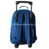 Студент назад к мешку подарка Backpack завальцовки вагонетки школы установленному