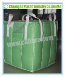 Зеленый цвет открытый или мешок тонны Spout верхний FIBC большой Jumbo