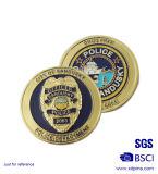 Adapté aux besoins du client sablant des pièces de monnaie de patrouille de la Floride pour l'emblème (XD-0309)