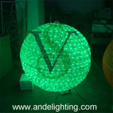 Motivo Lights do diodo emissor de luz 3D Ball de Decorations do Natal