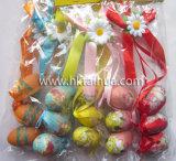 La nueva decoración de Pascua de la manera hace el huevo a mano
