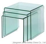 Vidrio caliente de la curva (vidrio curvado) para el edificio y los muebles