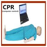 Modello completo del manichino di addestramento di CPR del corpo di controllo di calcolatore
