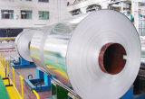 papel de aluminio del cable de la alta calidad de 8011-O 0.008m m