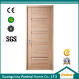 Puerta de la chapa del PVC con la madera sólida para el proyecto del hotel (WDHO41)