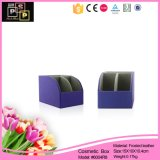 PU Leather Make Paper Jewelry Box (6004R8)