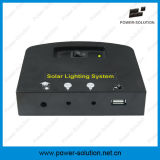 Système de d'éclairage solaire avec le chargeur de panneau solaire de 11V 4W et de téléphone d'USB pour d'intérieur (PS-K013)