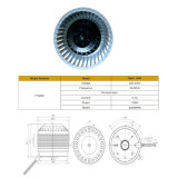 вентиляторный двигатель высокой эффективности клобука ряда 220V электрический микро- стоящий
